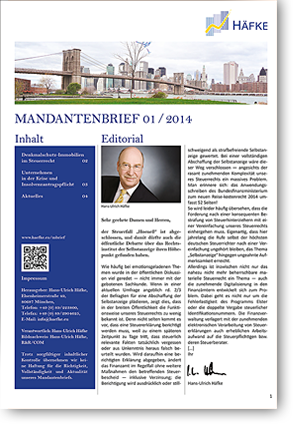 Häfke Newsletter
