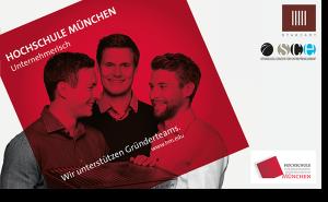 Anzeige Hochschüle München unternehmerisch Spiegel Anzeige