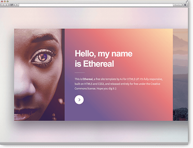 TYPO3 Themes Ethereal (HTML5)